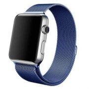Pulseira Milanese para Apple Watch 42MM - Azul