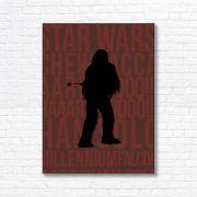 Quadro Canvas Decorativo - Chewbacca - FQ18