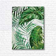 Quadro Canvas Decorativo - Folhagem - FQ15