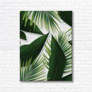 Quadro Canvas Decorativo - Folhas - FQ101