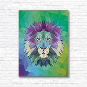 Quadro Canvas Decorativo - Leão - FQ04