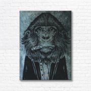Quadro Canvas Decorativo - Macaco - FQ08