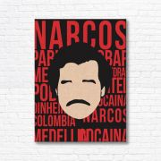 Quadro Canvas Decorativo - Narcos - FQ17