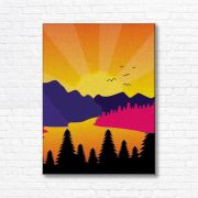 Quadro Canvas Decorativo - Paisagem - FQ106