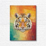 Quadro Canvas Decorativo - Tigre - FQ07