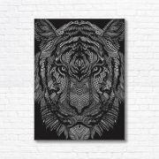 Quadro Canvas Decorativo - Tigre - FQ10