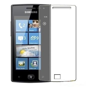 Pelicula Protetora para Samsung I677 I8350 Omnia W Transparente