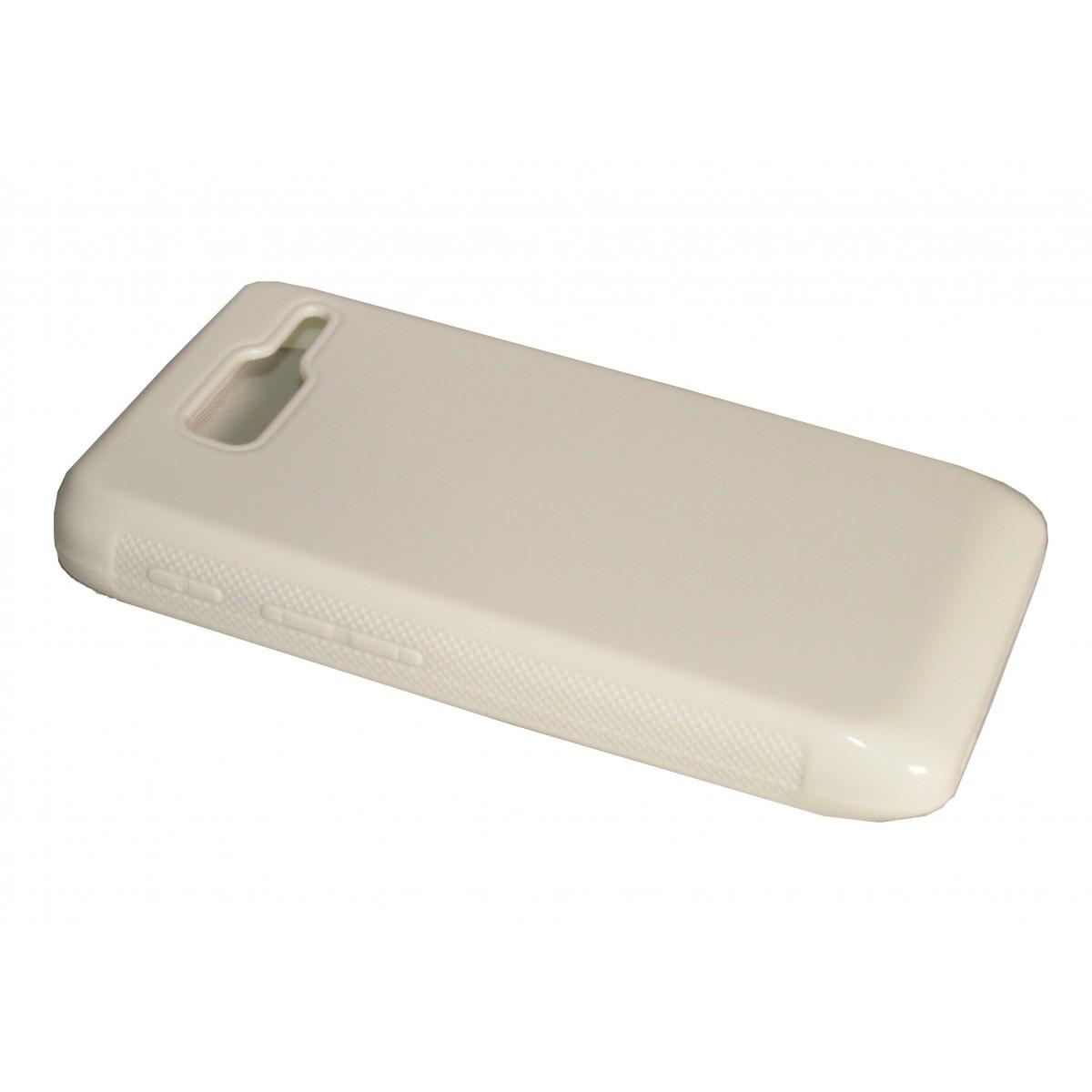 Capa de TPU para Motorola Razr D3 XT919 XT920 + Pelicula Branca