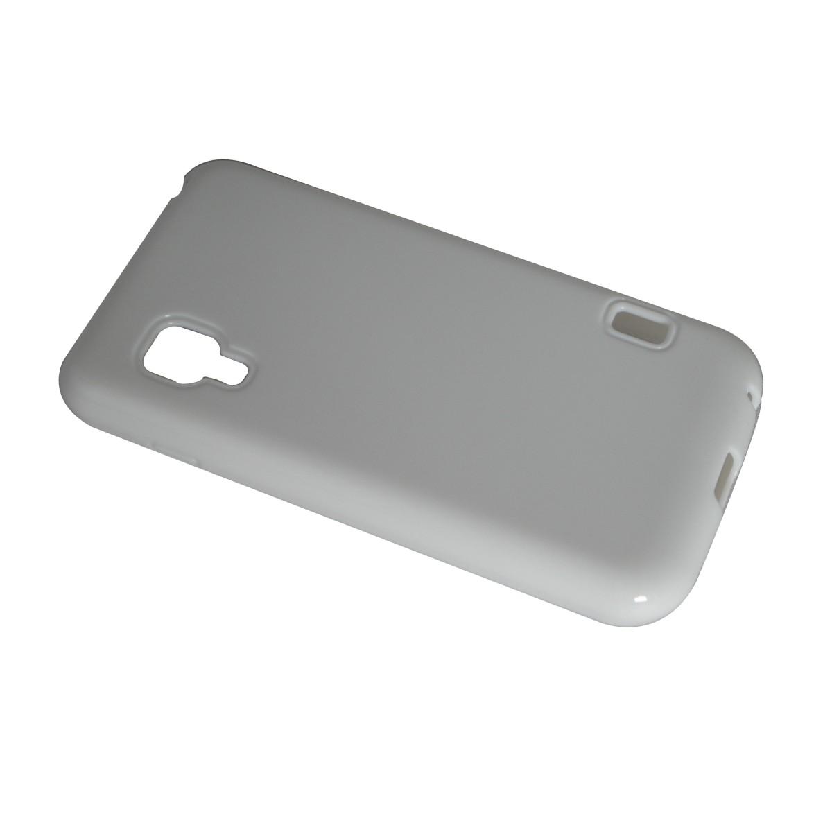 Capa de Tpu para LG Optimus II L5 E455 + Pelicula Branca