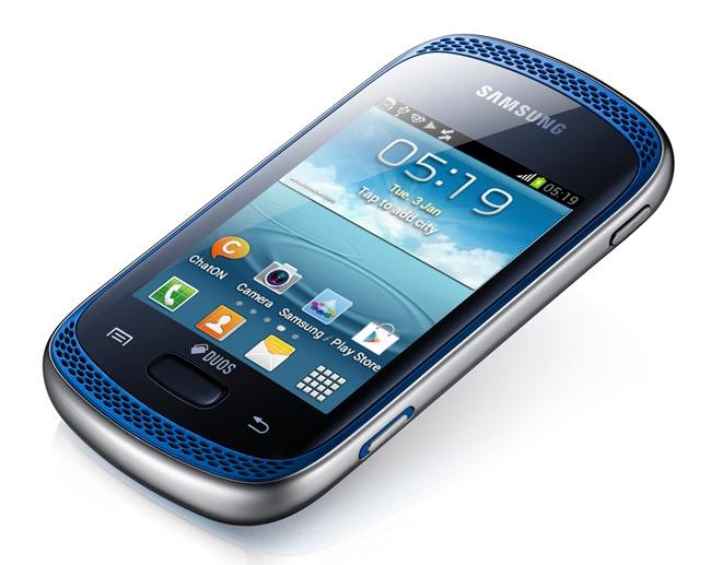 Película Protetora para Samsung Galaxy Music Duos GT-S6012 - Fosca