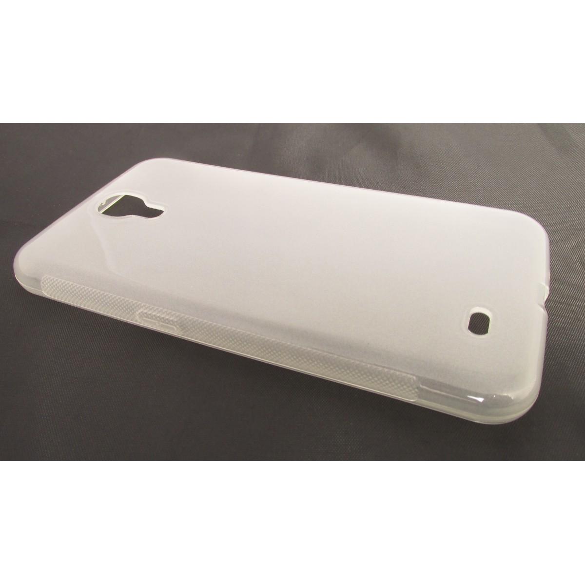 Capa TPU Transparente Samsung Galaxy Mega 6.3 I9200 + Película Flexível