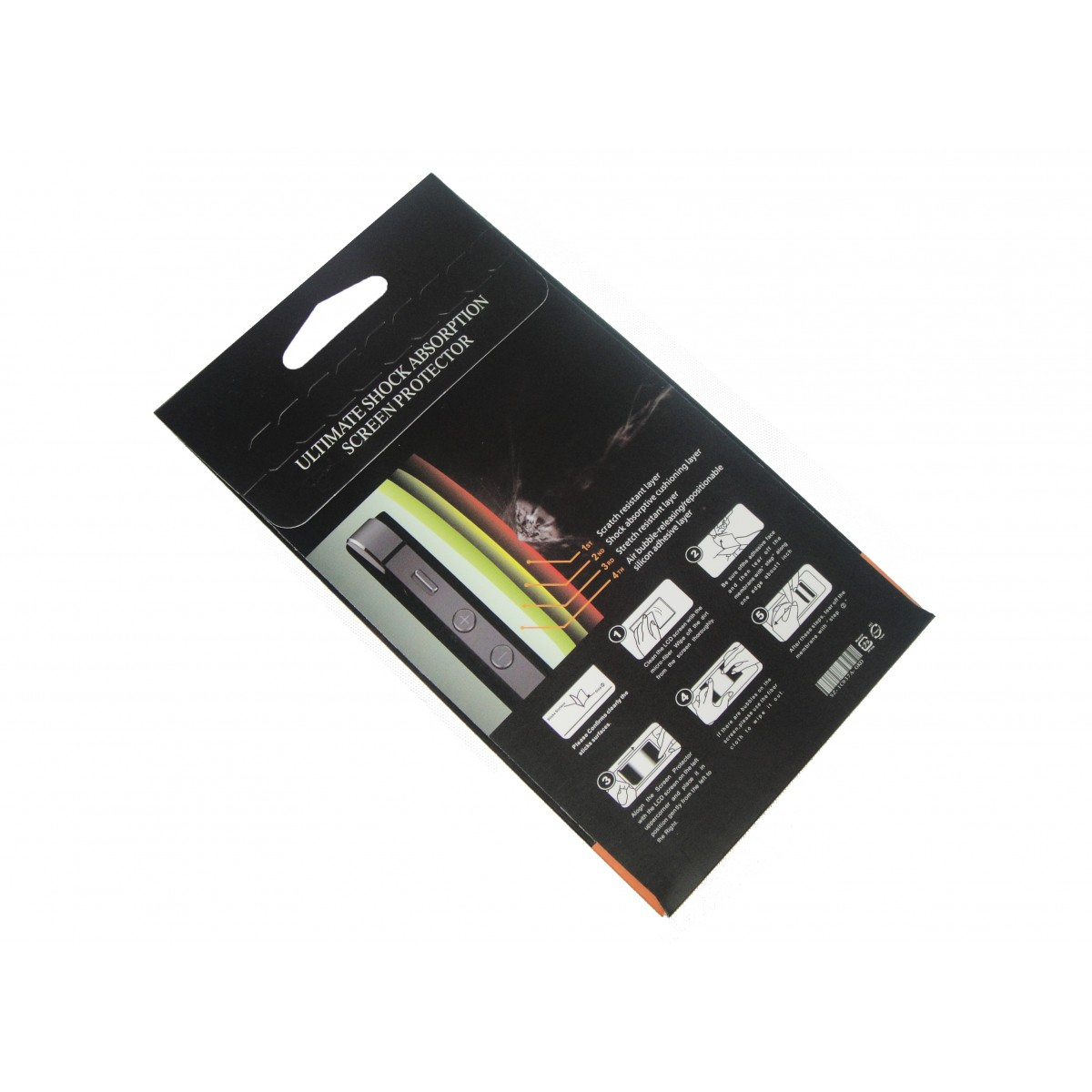 Pelicula Iphone 5 5G 5S Anti Impacto Shock Ultra Resistente