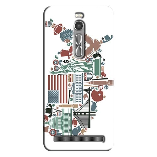 Capa Personalizada Exclusiva Asus Zenfone 2 ZE551ML - CD22