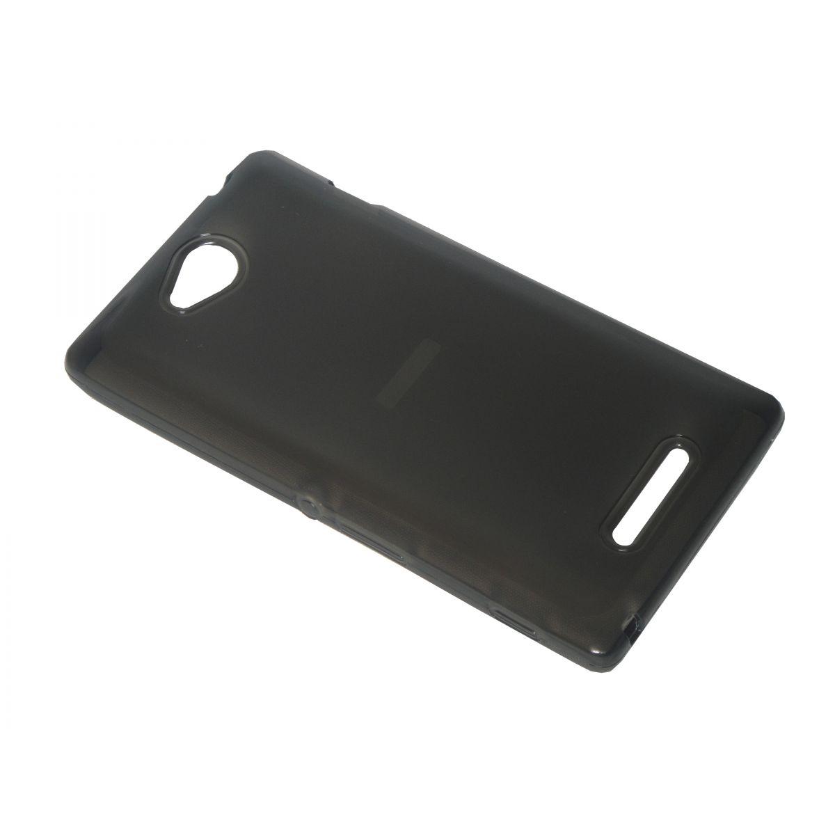 Capa TPU Grafite Sony Xperia C C2304 C2305 S39H + Pelicula Flexível