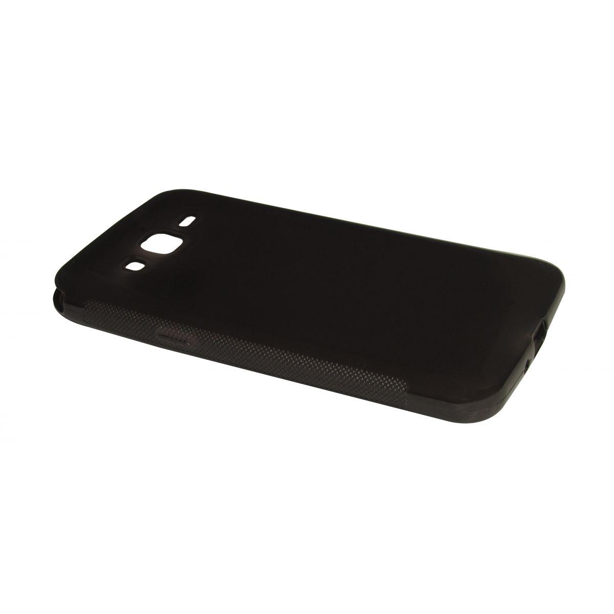 Capa TPU Grafite Samsung Galaxy Gran Duos 2 G7102 + Película Flexível