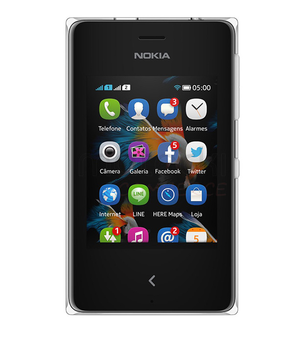 Película Protetora para Nokia Asha 500 - Transparente