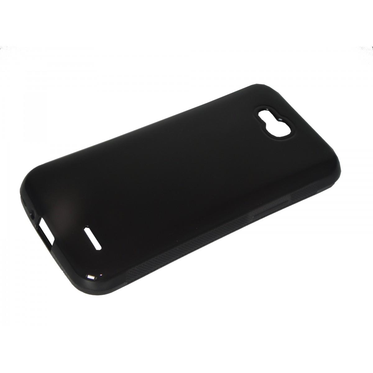 Capa TPU Grafite LG L90 D410 + Película Flexível