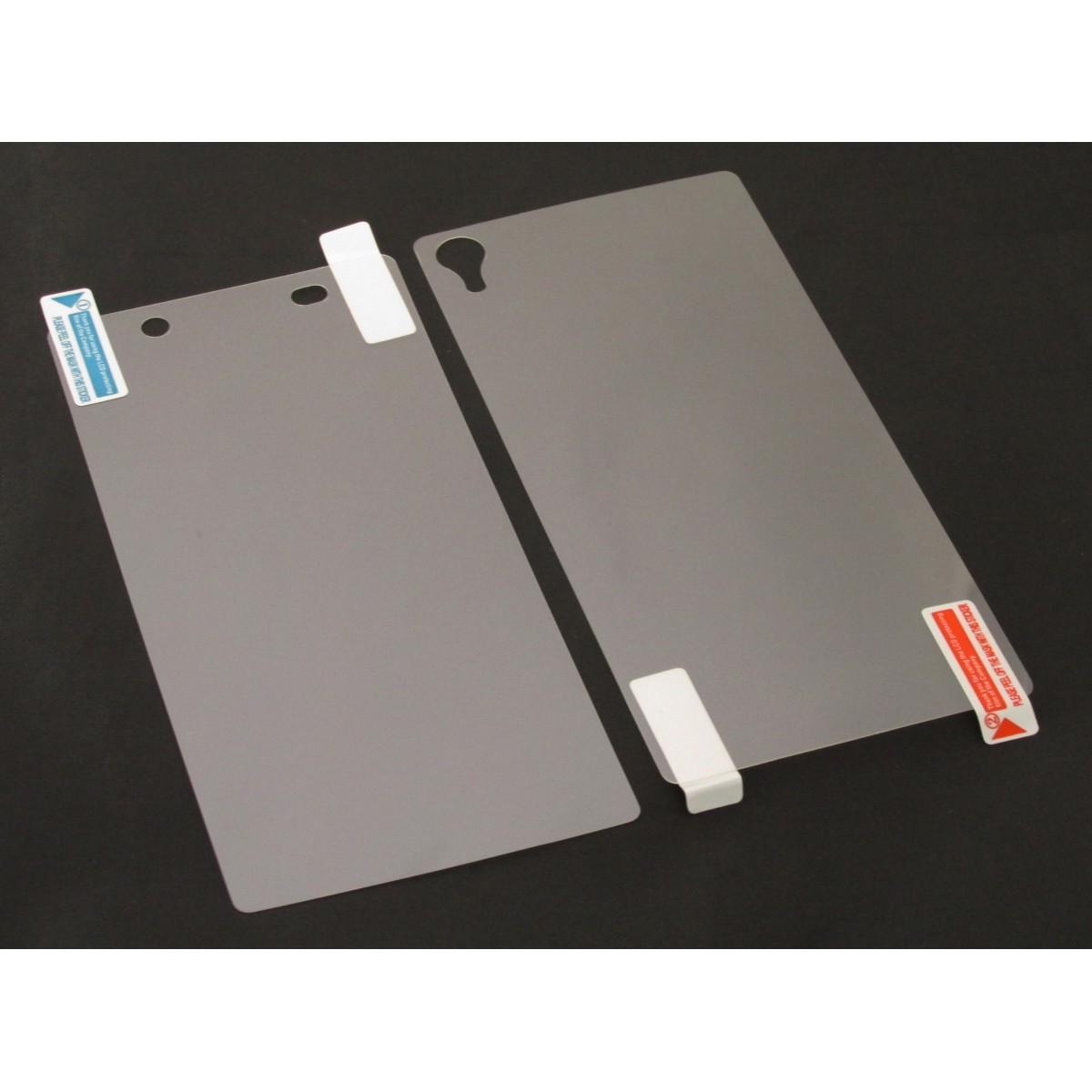 Película Protetora para Sony Xperia Z2 D6502 D6503 Frente e Verso - Fosca