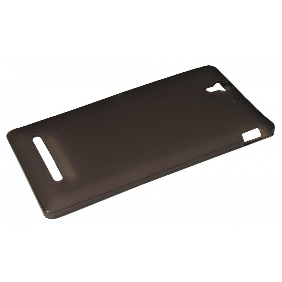 Capa TPU Grafite Sony Xperia C3 D2533 D2502