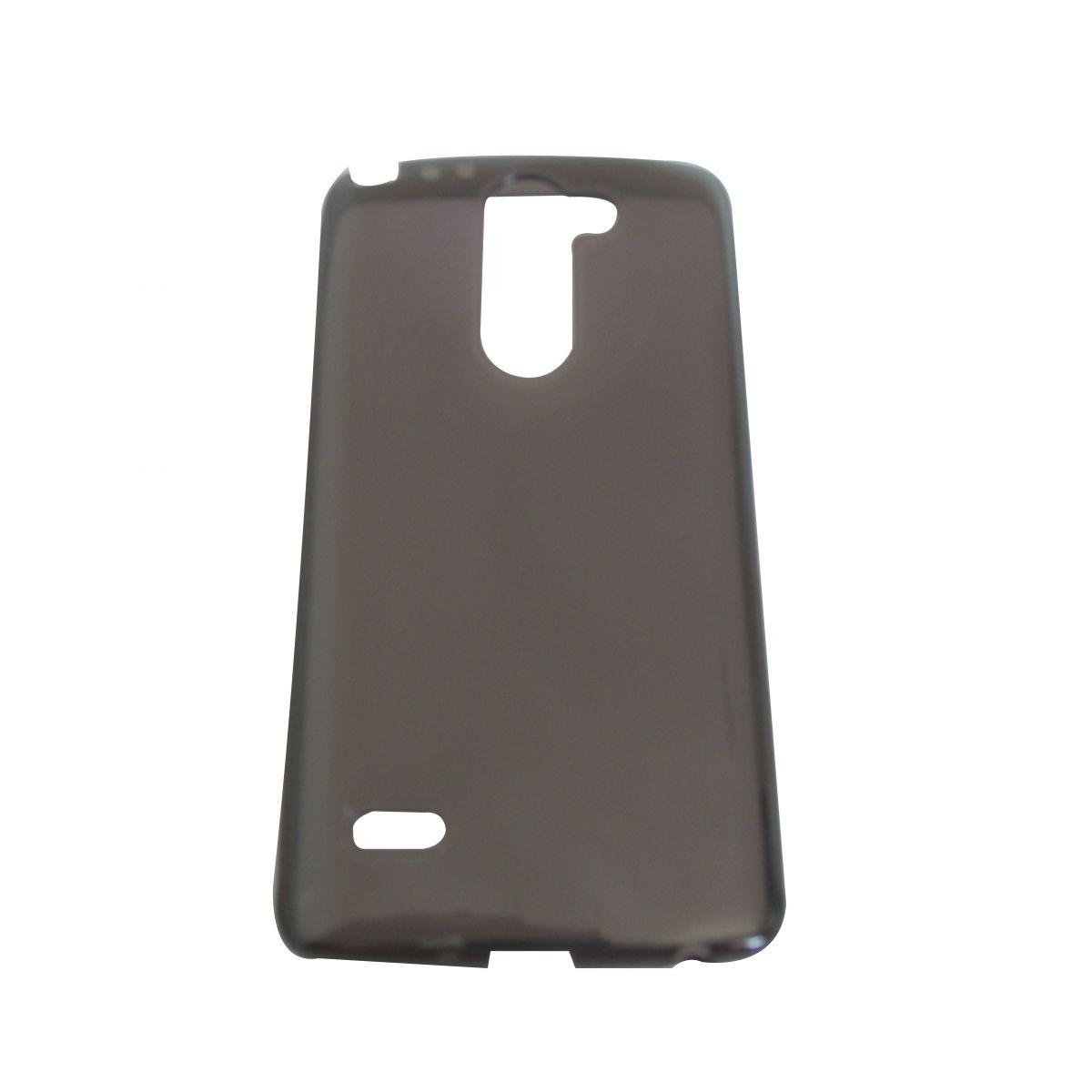 Capa TPU Grafite LG G3 Stylus D690 + Película Flexível