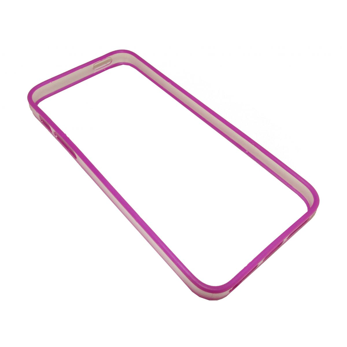 Capa Bumper Ultra Slim Fit Iphone 5 5s  Pelicula Roxa