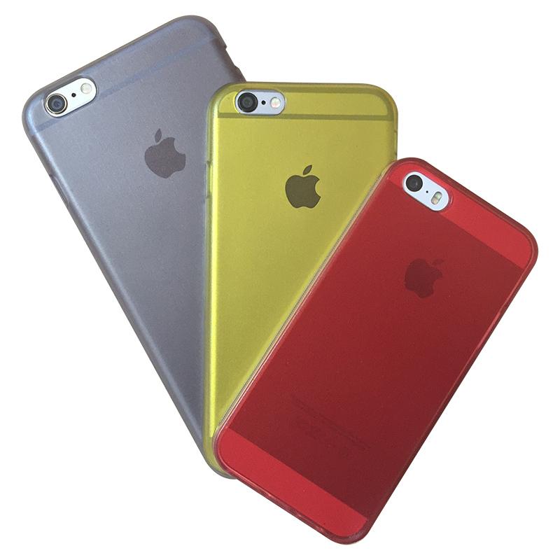 Capa Colorida Exclusiva para Iphone 6 6S em TPU Premium