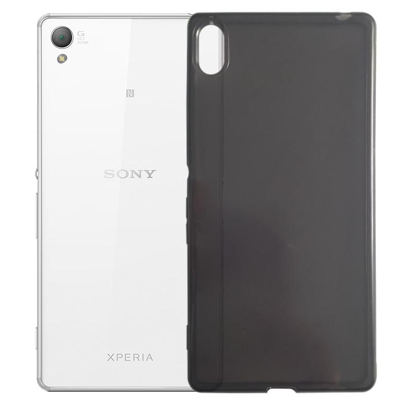 Capa TPU Grafite Sony Xperia Z3+