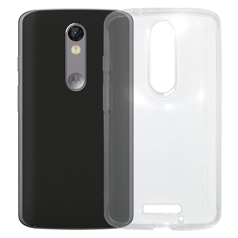 Capa TPU Transparente Motorola Moto X Force XT1580