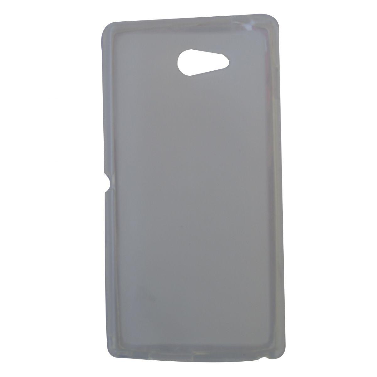 Capa TPU Transparente Sony Xperia M2 D2303 D2305 D2306 + Película Flexível