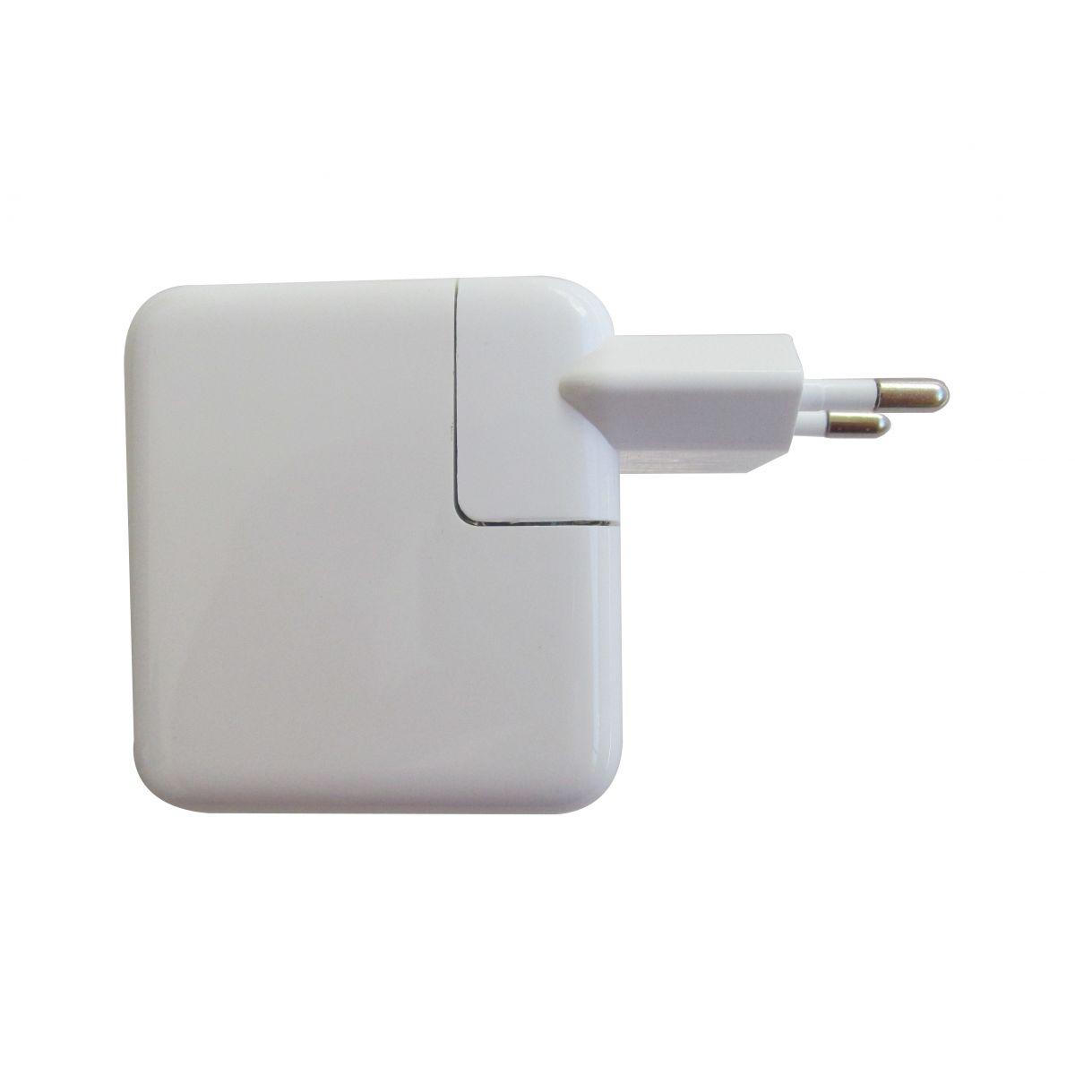 Carregador de tomada com 4 entradas USB - Branco