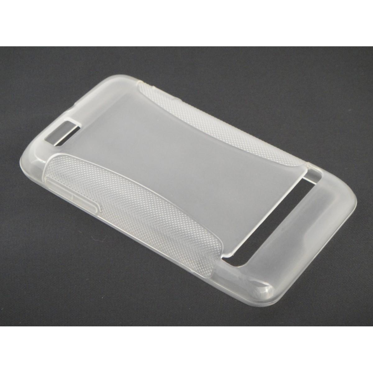 Capa TPU Transparente Motorola Motosmart XT390 + Película Flexível