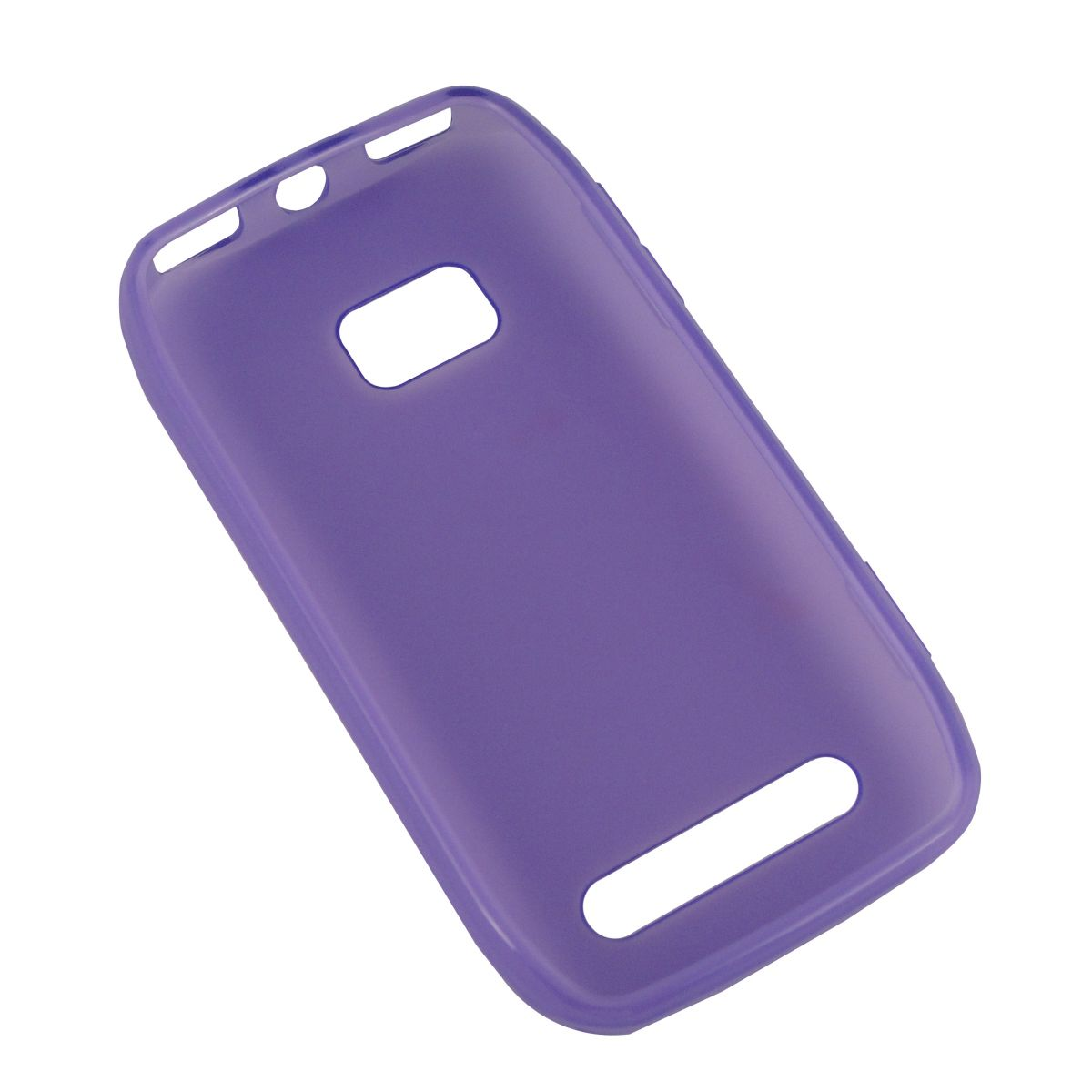 Capa de Tpu para Nokia Lumia 710 N710 + Película Lilas
