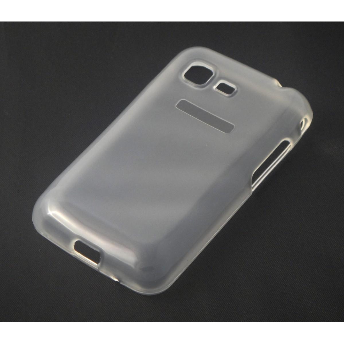 Capa TPU Transparente Samsung Galaxy Star 3 Duos S5222 + Película Flexível