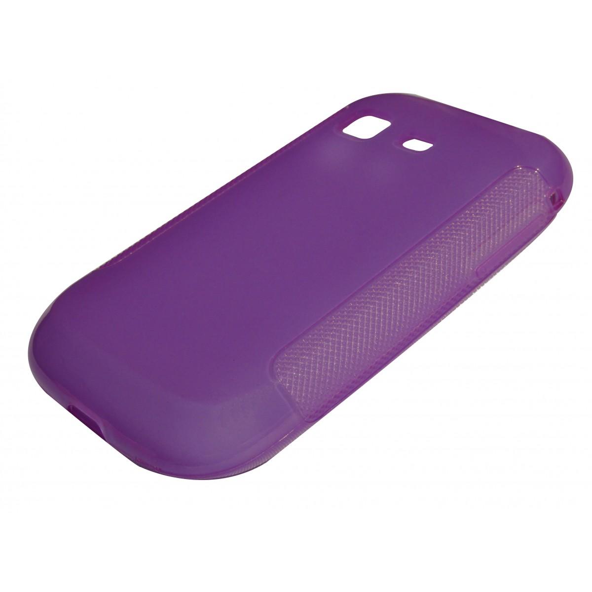 Capa de Tpu para Samsung Galaxy Pocket S5300 S5302  Pelicula Lilas