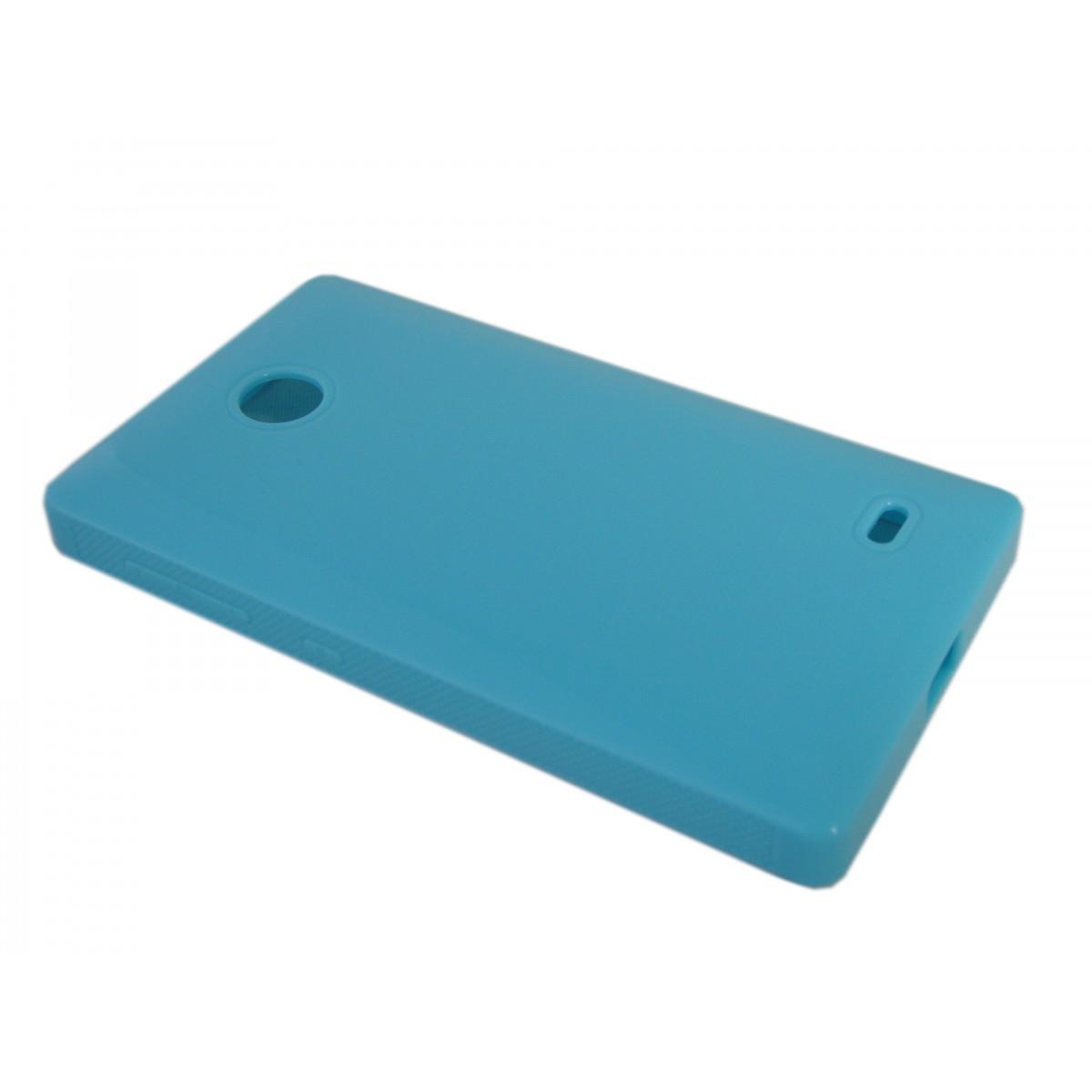 Capa de Tpu para Nokia X A110 RM980 + Pelicula Azul