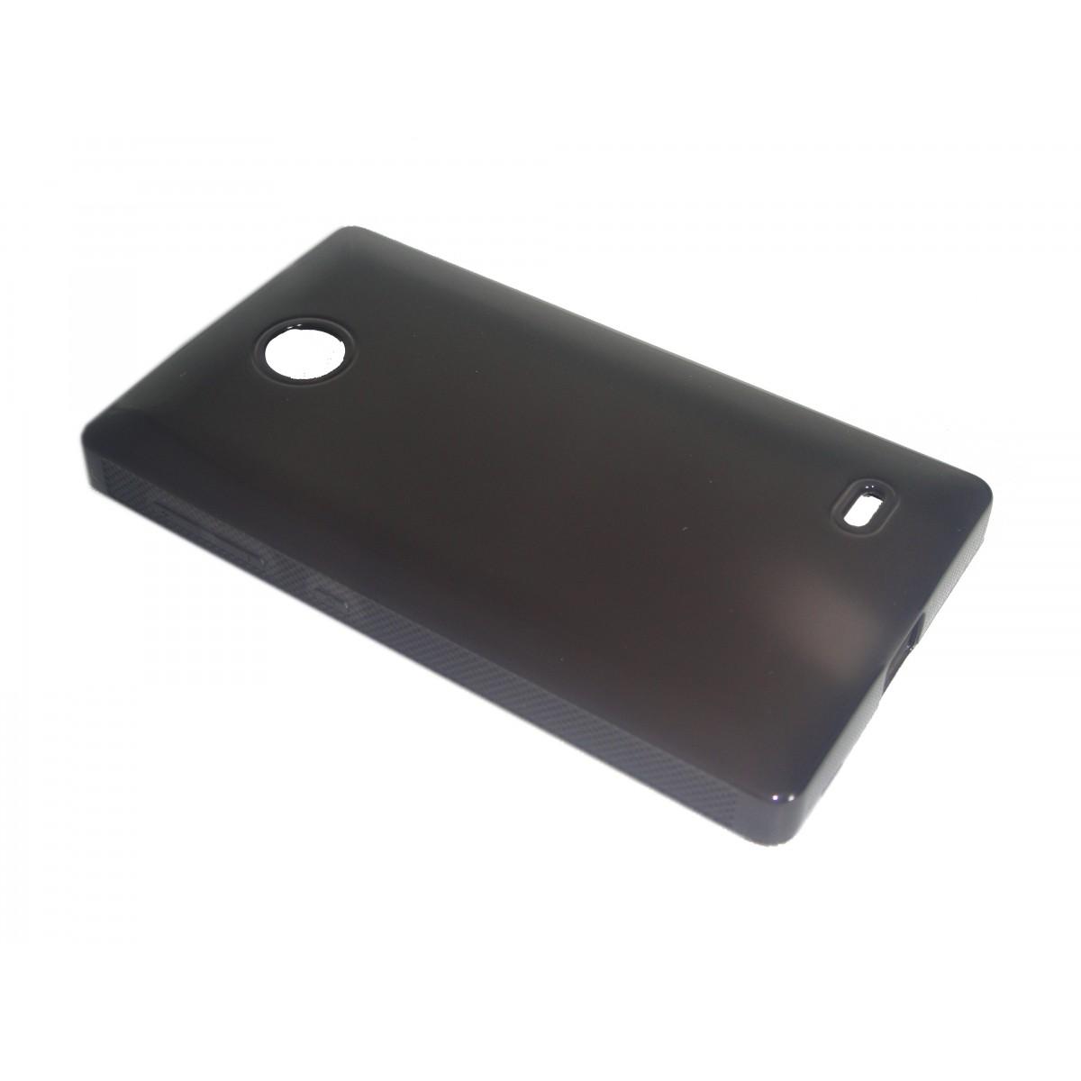 Capa TPU Grafite Nokia X A110 RM980 + Película Flexível