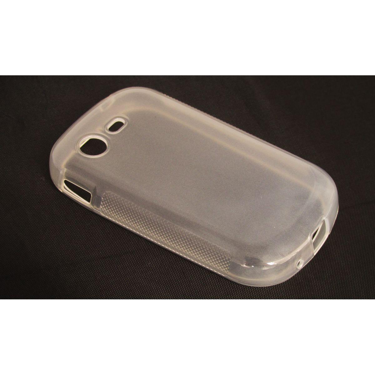 Capa TPU Transparente Samsung Galaxy Star Trios S5283 + Película Flexível