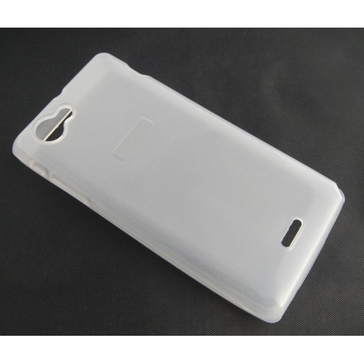 Capa TPU Transparente Sony ST26i Xperia J + Película Flexível