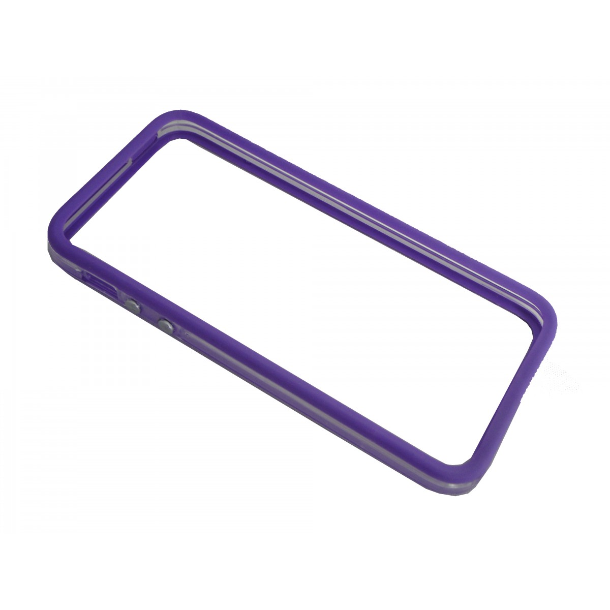 Capa Bumper Iphone 5 5G 5S  Pelicula Roxa