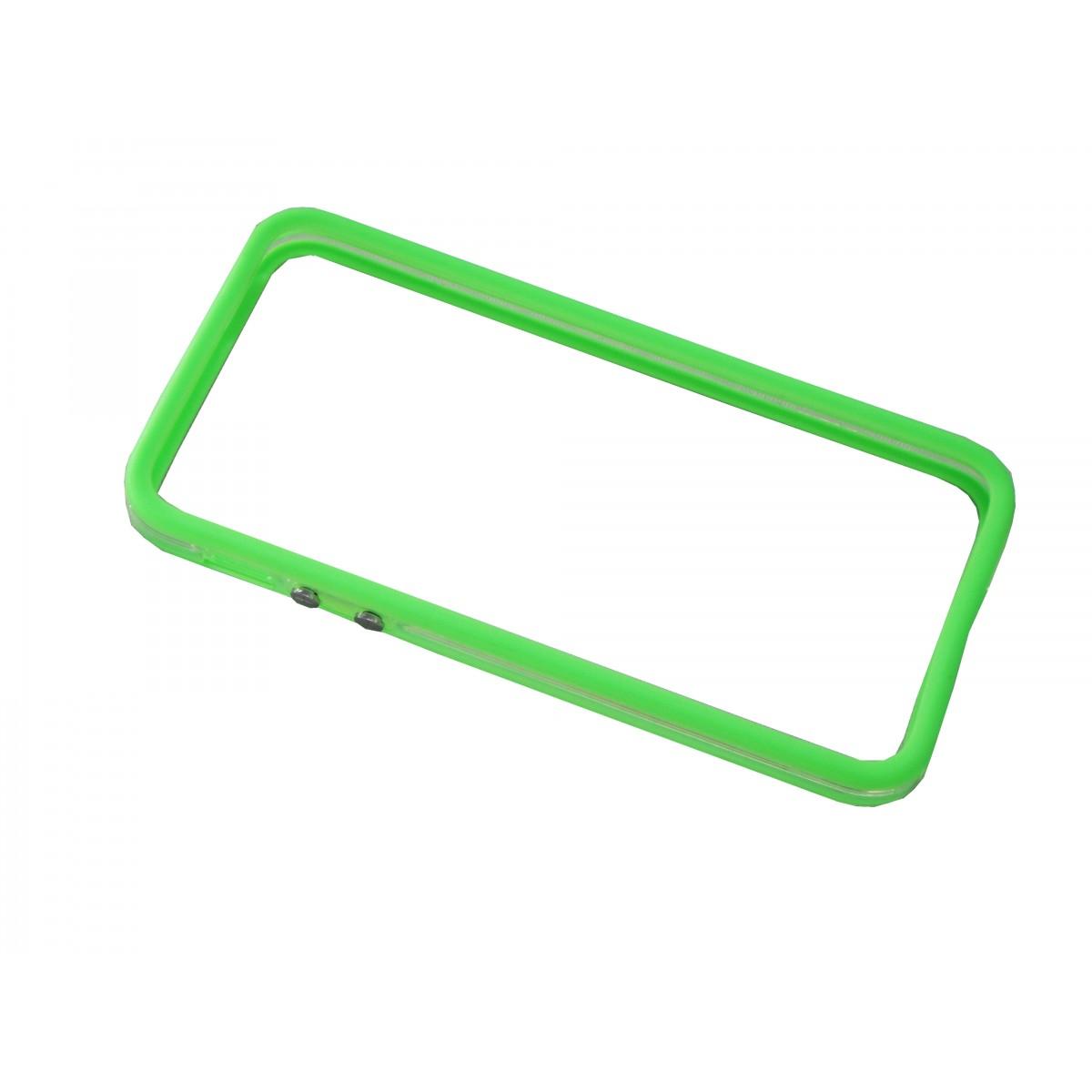 Capa Bumper Iphone 5 5G 5S  Pelicula Verde