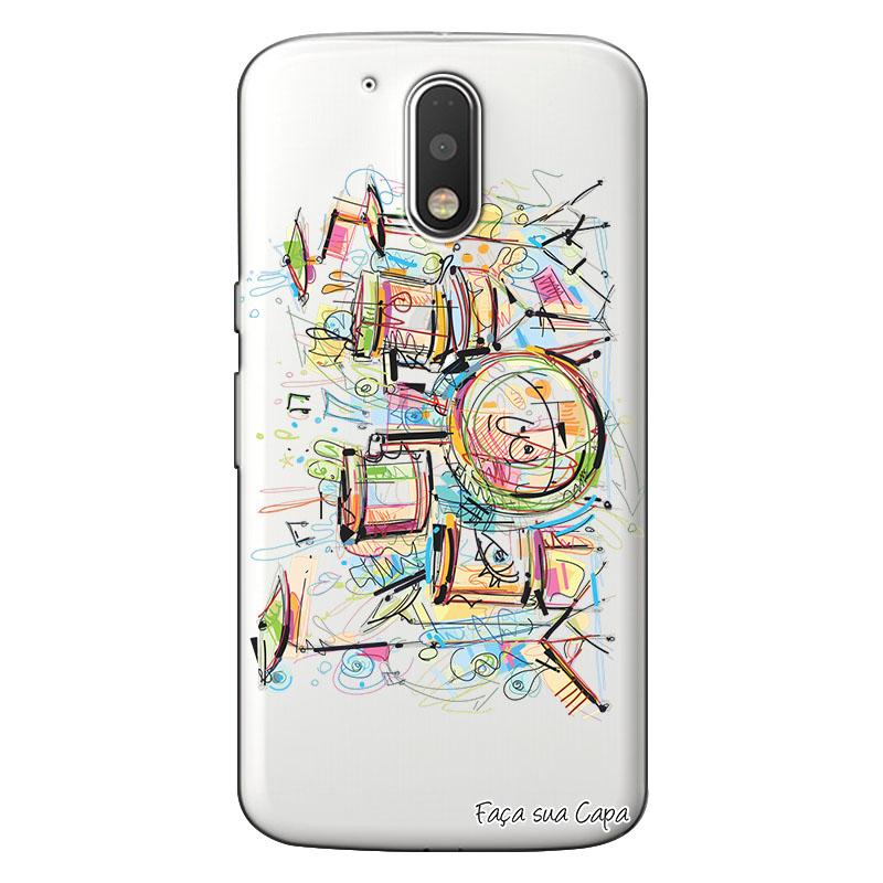 Capa Personalizada para Motorola Moto G4 Plus Bateria - TP05