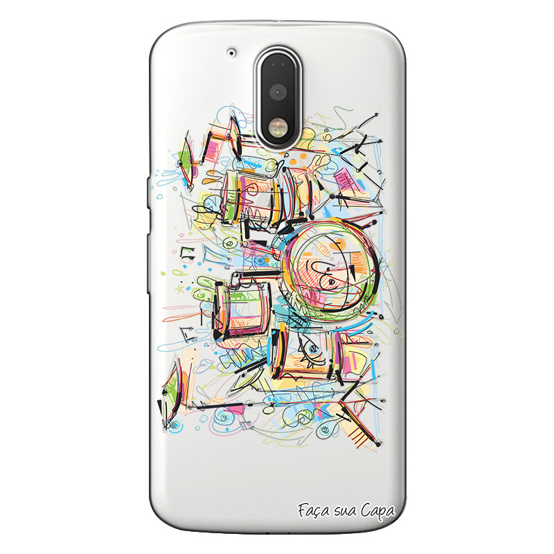 Capa Personalizada para Motorola Moto G4 Play Bateria - TP05