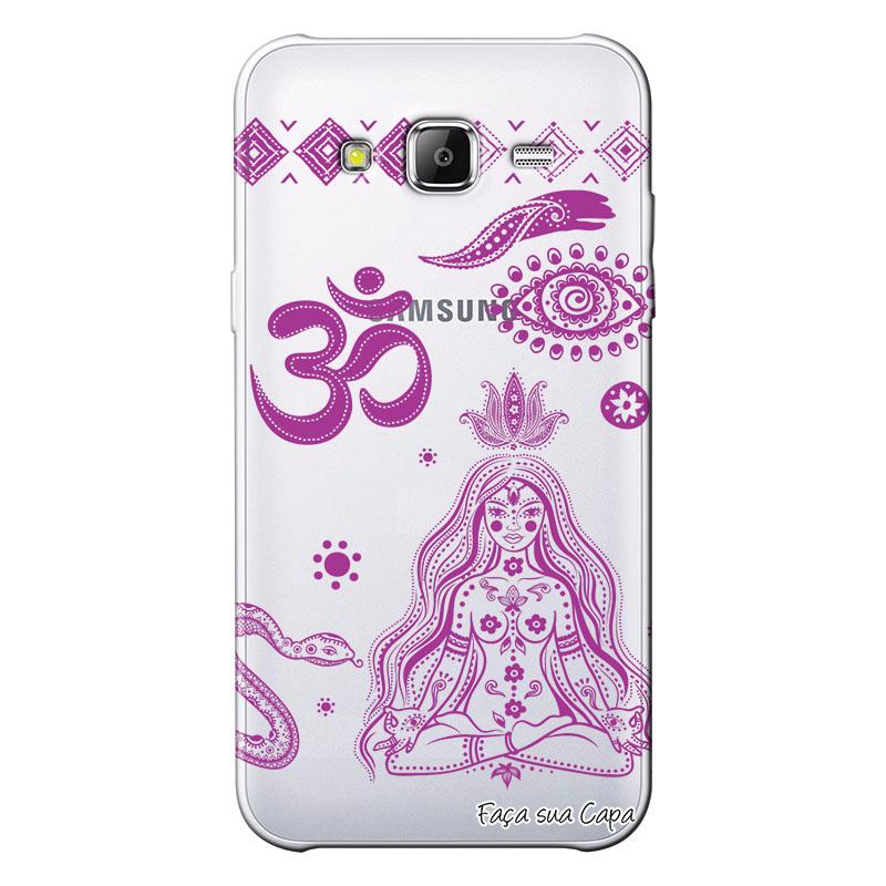 Capa Personalizada para Samsung Galaxy J3 2016 Hippie - TP65