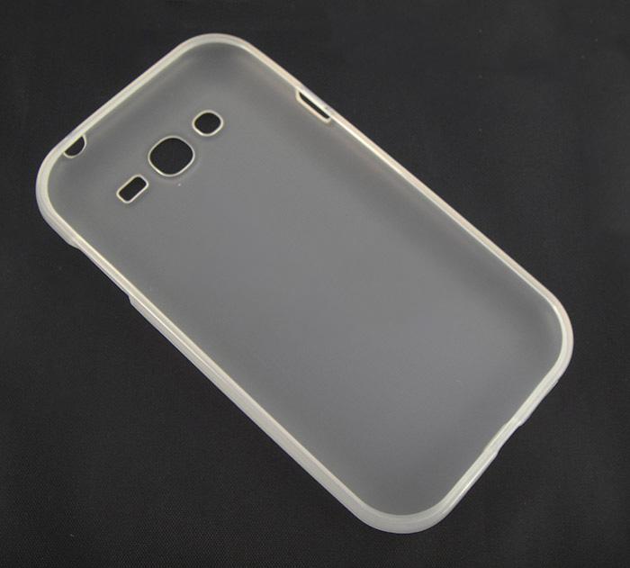 Capa TPU Transparente Samsung Grand Duos i9082 + Película Flexível