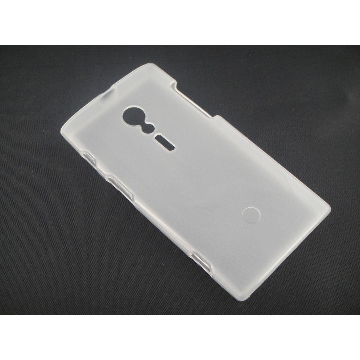 Capa TPU Transparente Sony Xperia Ion Lt28i + Película Flexível