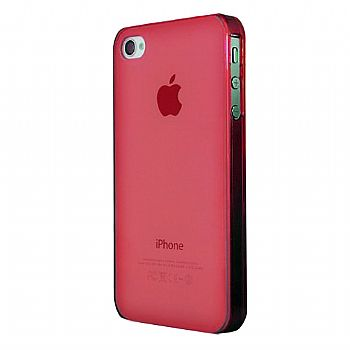 Capa Intelimix Nuance Apple Iphone 4 4S - Vermelha