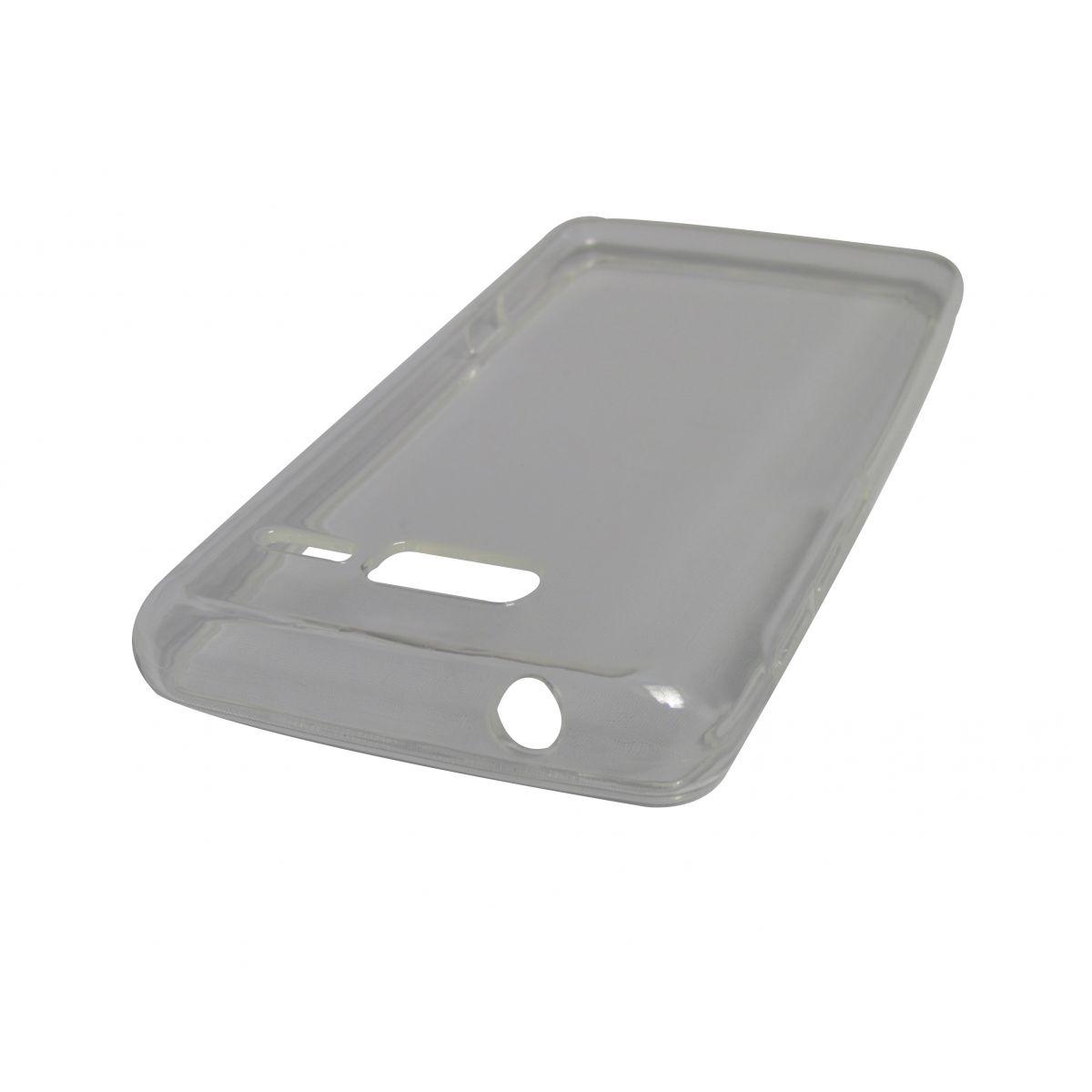 Capa TPU Transparente Motorola Razr I XT890 XT907 + Película Flexível