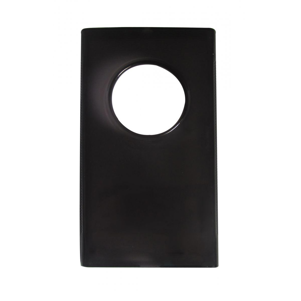 Capa TPU Grafite Nokia Lumia 1020 N1020 + Película Flexível