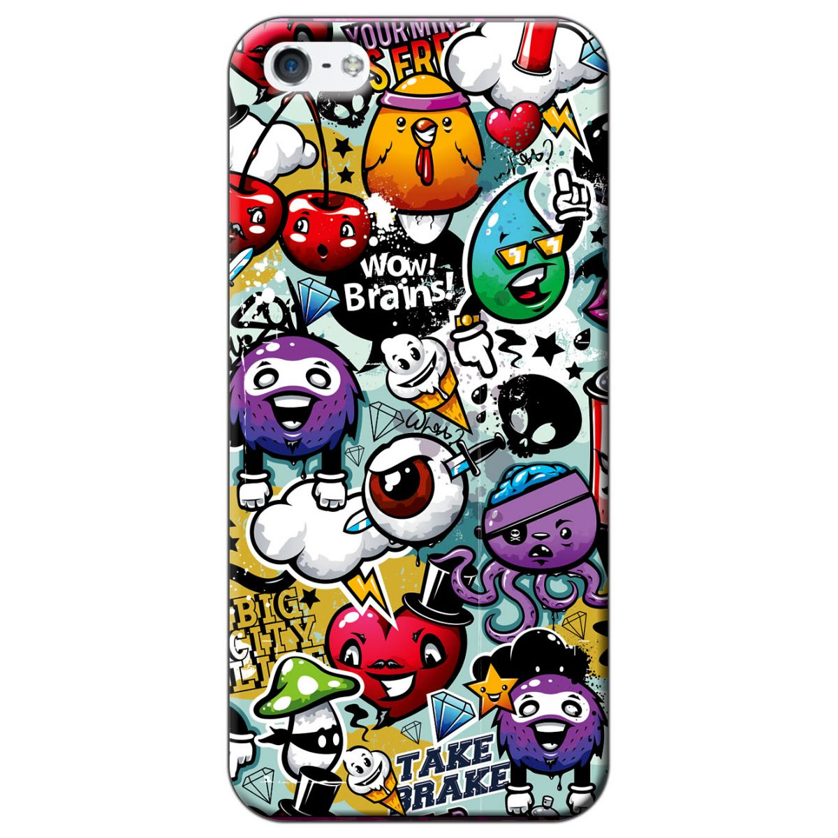 Capa Personalizada para Apple iPhone 5 5S SE - AR45