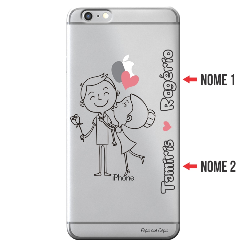 Capa Personalizada com Nome para Apple Iphone 6 6S - NM03
